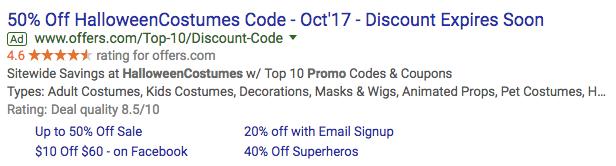 seasonal adwords ads