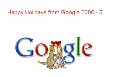 Happy Holidays from Google