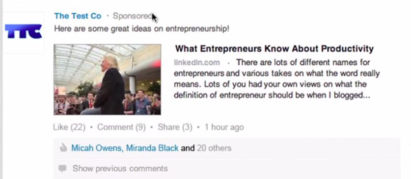 8 reasons I hate LinkedIn ads sponsored updates