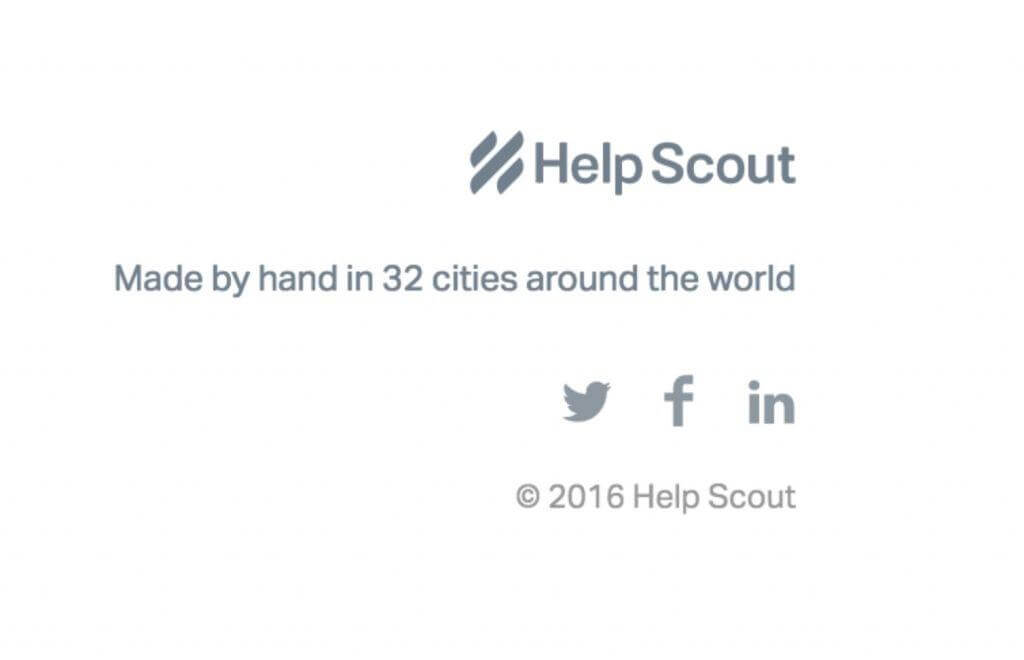 Help Scout Landing Page