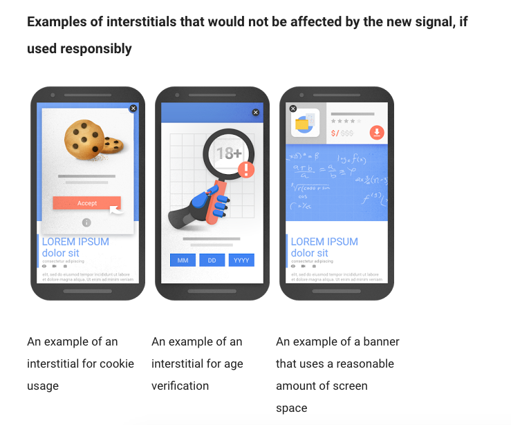 google mobile guidelines
