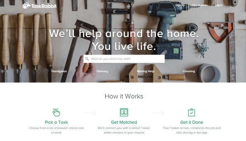 TaskRabbit example