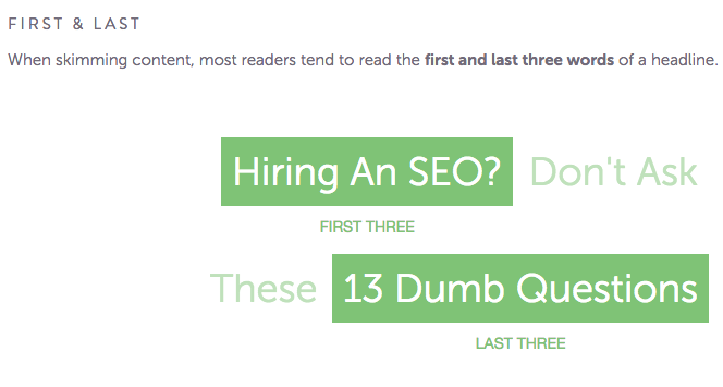 seo headline analysis