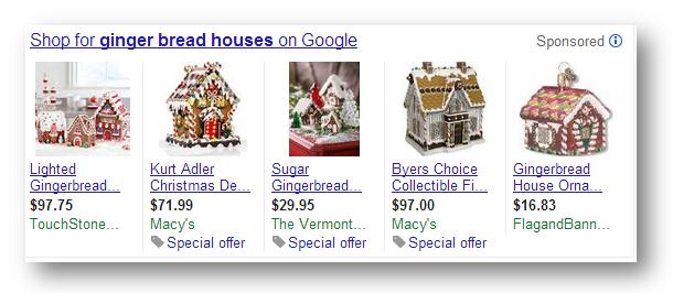 Google Product Listing Ads