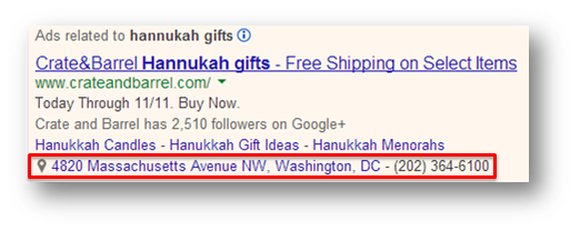 Holiday marketing tips ad extensions