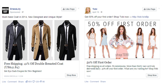 Holiday marketing tips Facebook ads