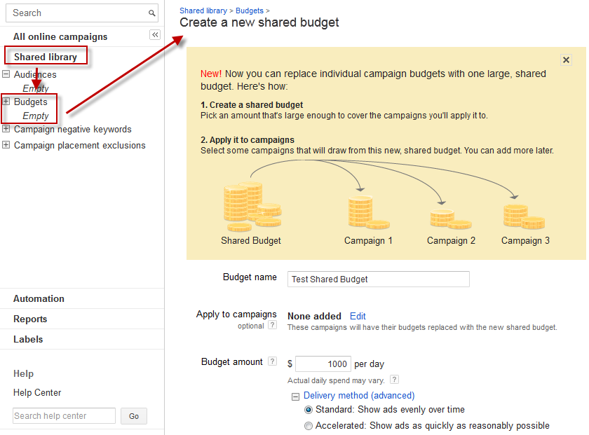 adwords budget tool, adwords budget optimizer