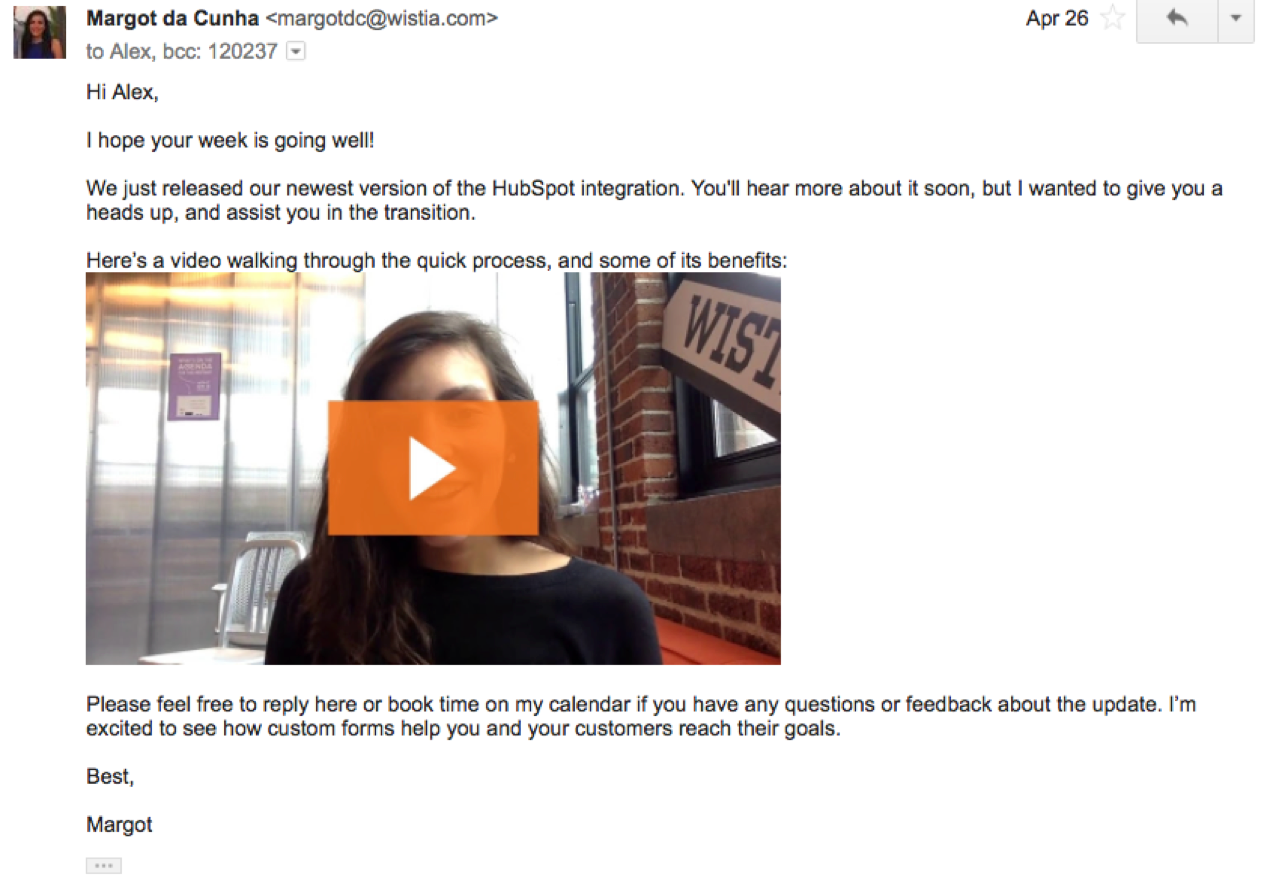 How to build video culture at your company use video in emails