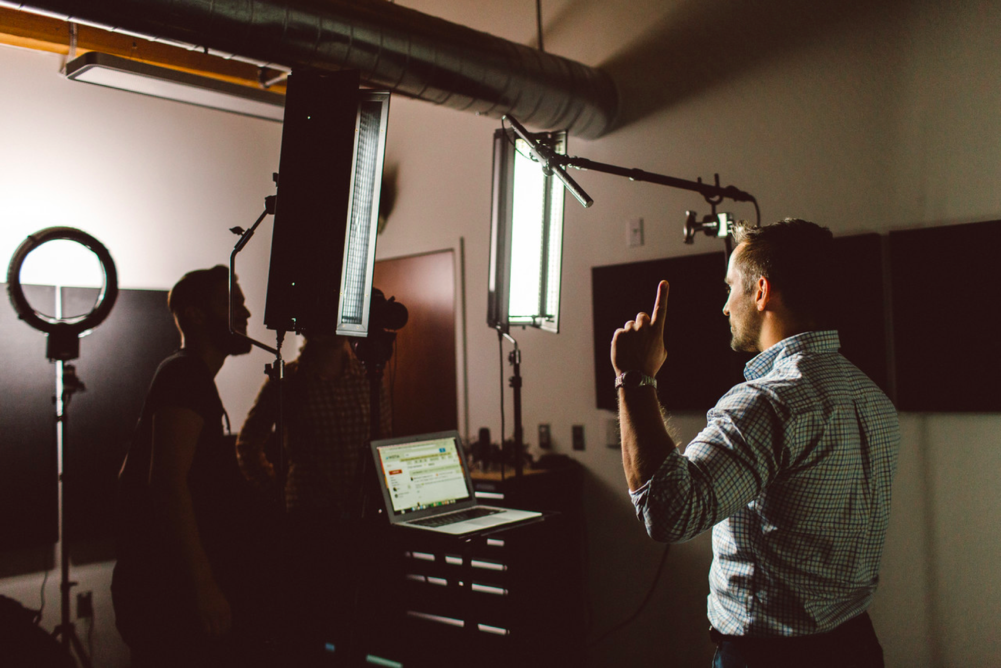 How to build video culture at your company video shoot