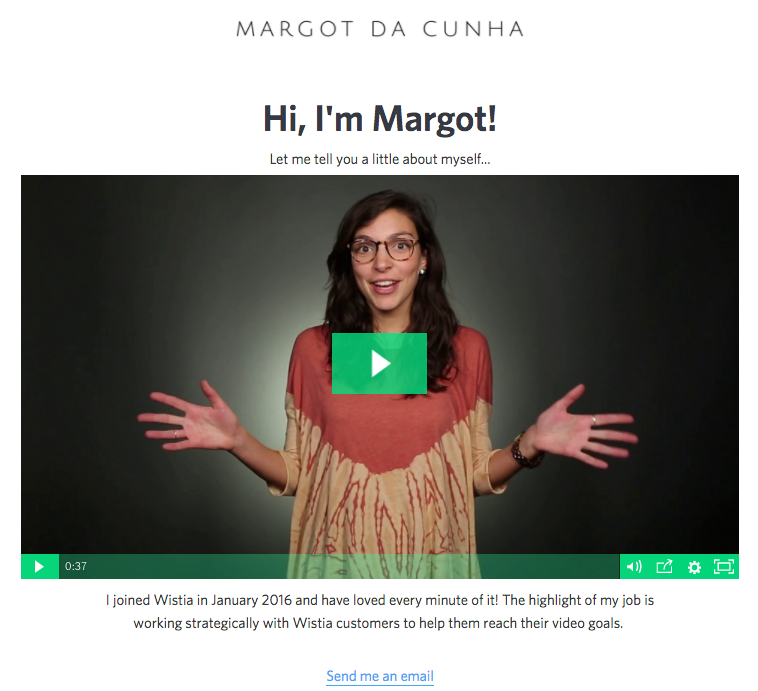 How to build video culture at your company use video email signature example