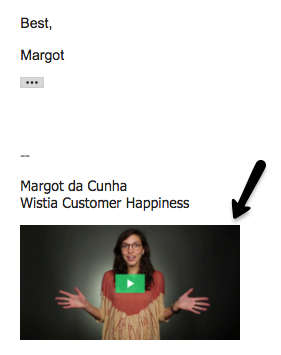 How to build video culture at your company use video email signature examples