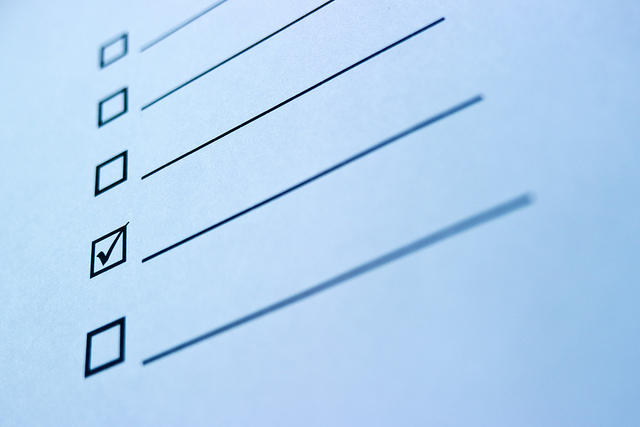 How to do a webinar checklist