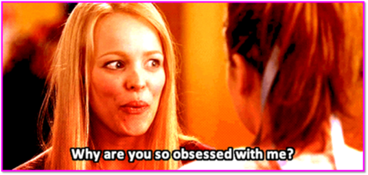 "how to learn to code image of regina george from mean girls saying ""why are you so obsessed with me?"""