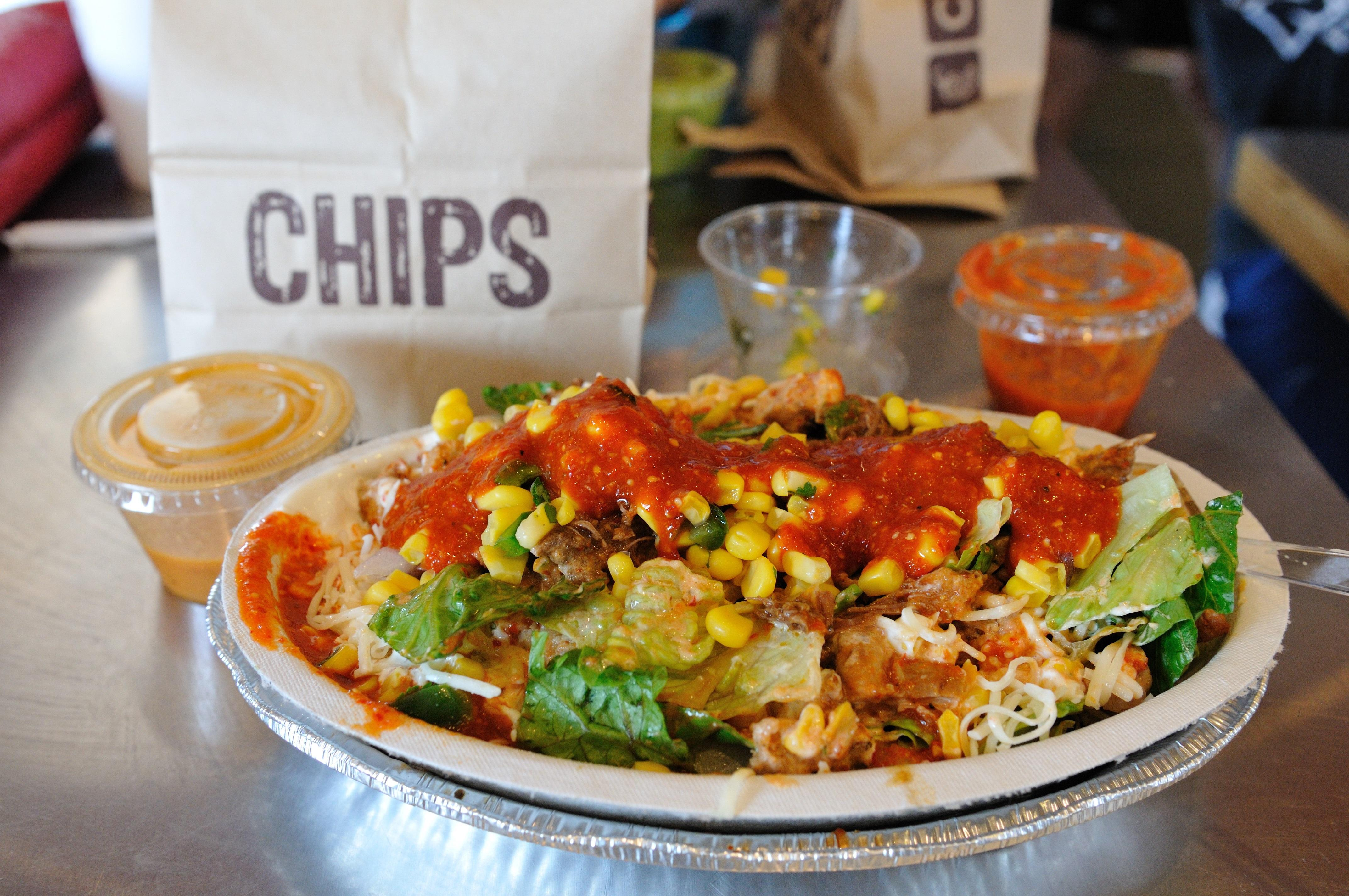 how to learn to code image of a burrito bowl at chipotle
