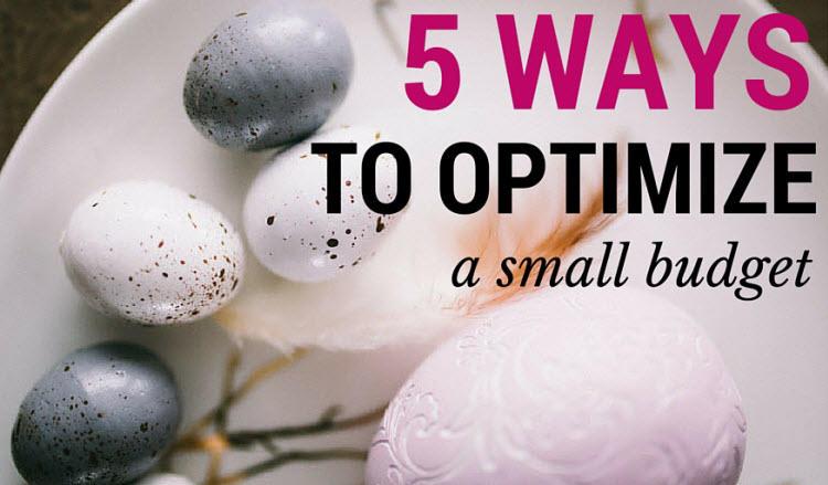 small marketing budget guide