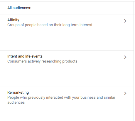 adwords life events targeting