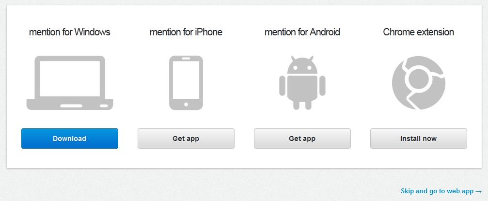 Using Mention App
