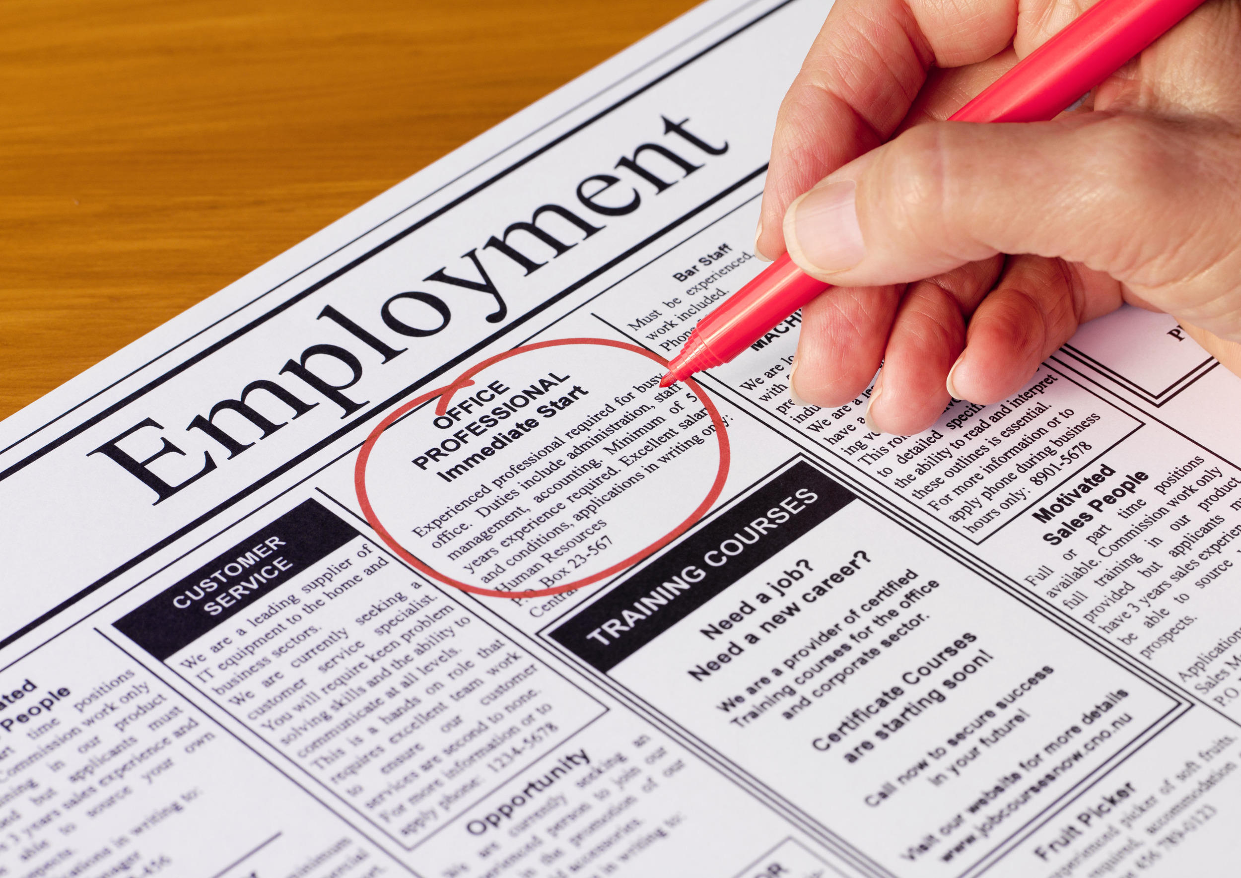 How to write a cover letter for a job application newspaper job advertisement