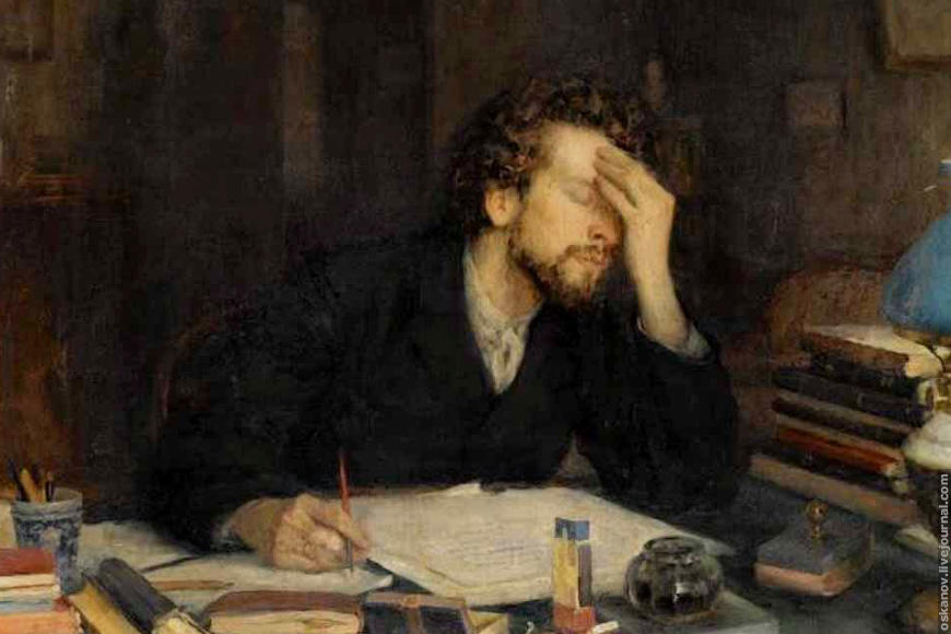 How to write a cover letter for a job application writer's block classic painting