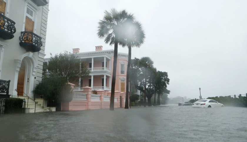 Hurricane Matthew Charleston