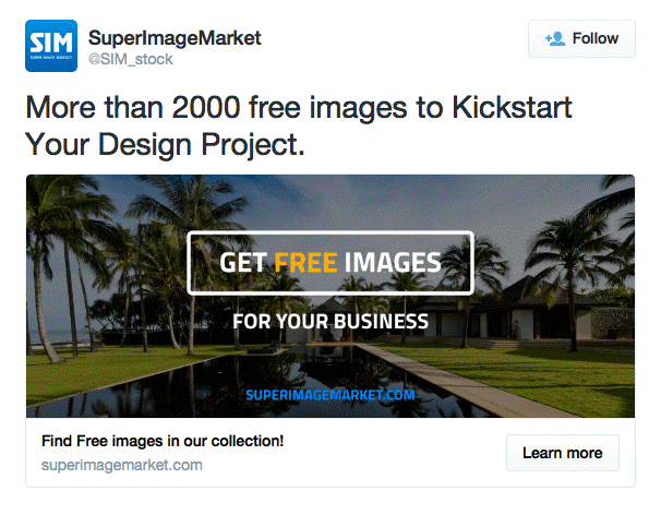 great twitter ad