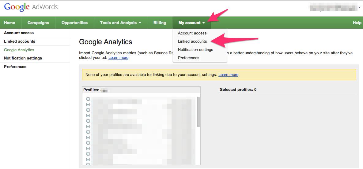 Import Analytics Data