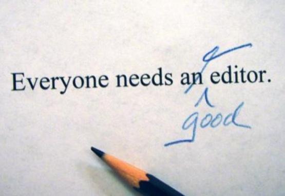 Improve my writing skills everyone needs a good editor