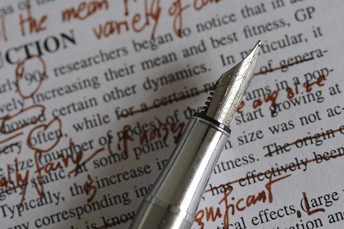 Improve my writing skills editing process
