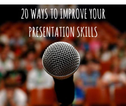 how to improve presentation skills
