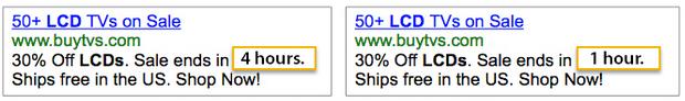 Aumentar os personalizadores de anúncios de uso on-line de vendas