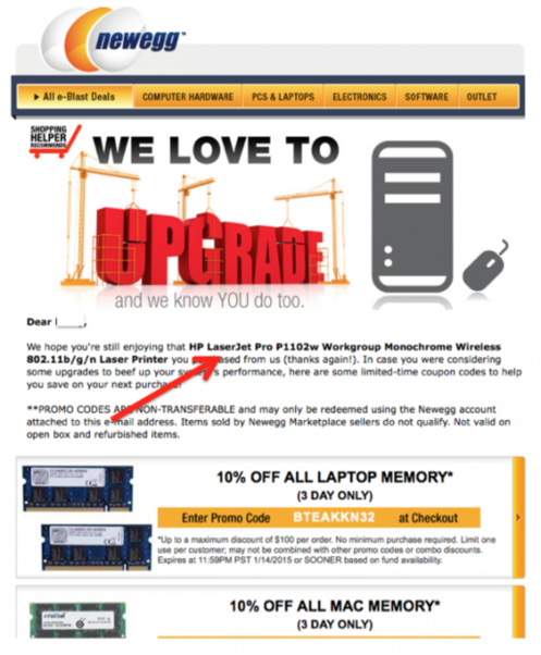Increase sales online send an amazing follow-up email