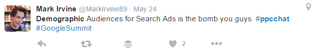 demographic auds for search ads