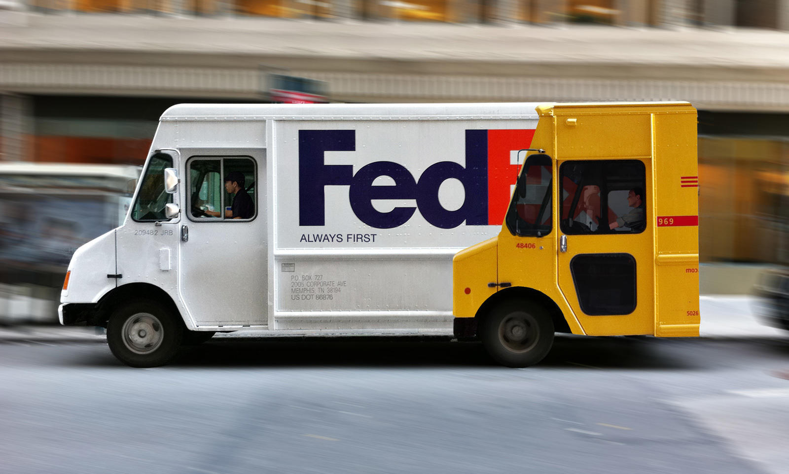 fun fedex truck ad