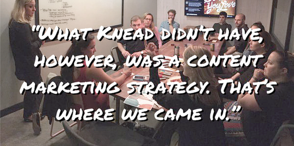 Inside a content marketing hackathon pull-out quote