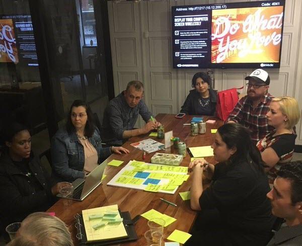 Inside a content marketing hackathon