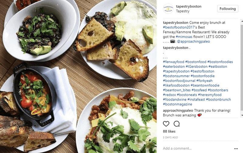 instagram ads for restaurants