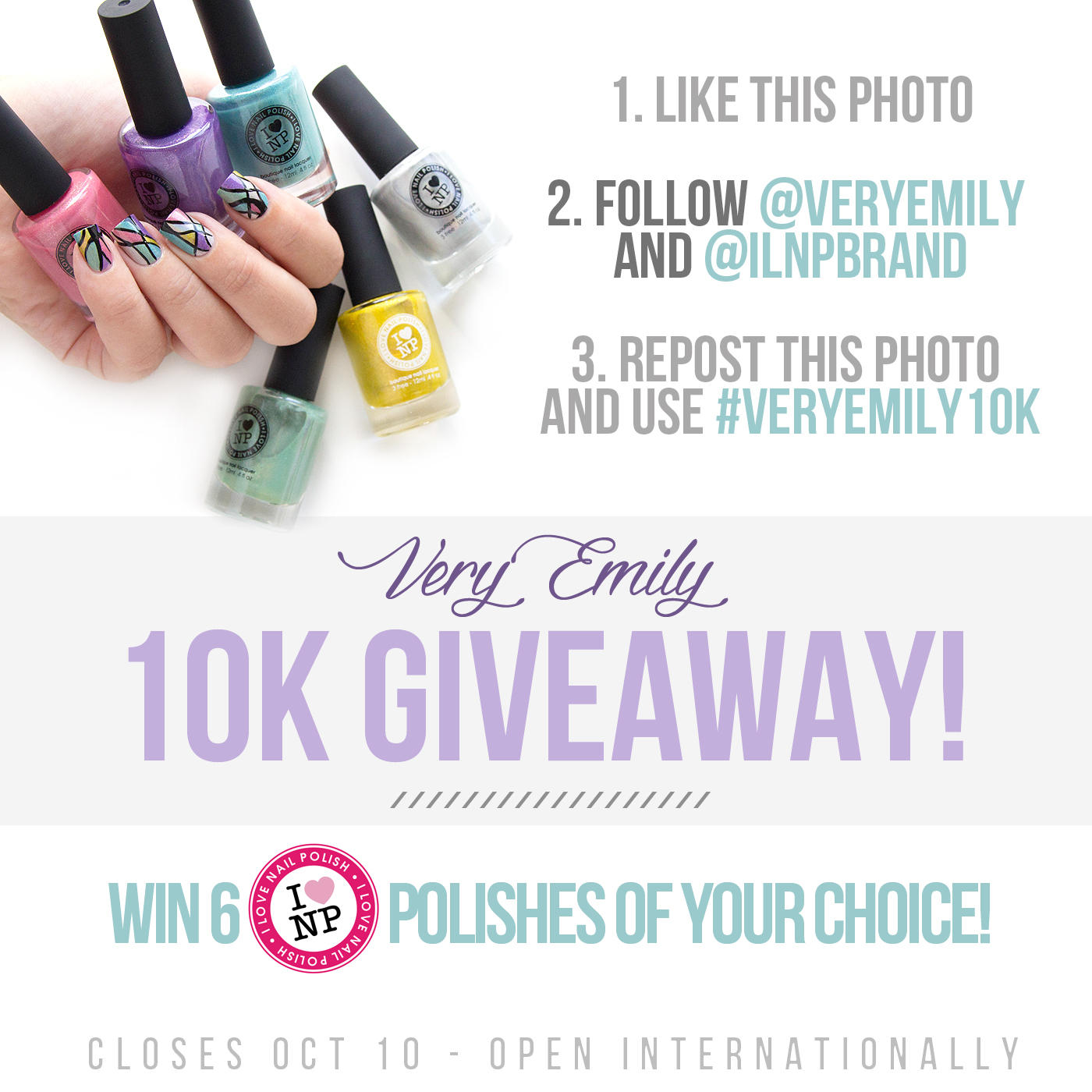 Giveaway on instagram rules