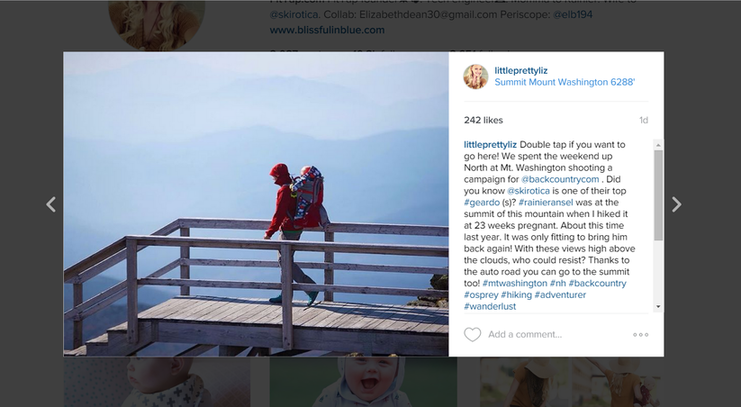 Instagram sponsored posts Instagram post 2