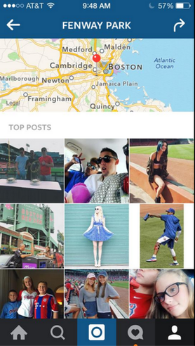 Instagram sponsored posts top posts