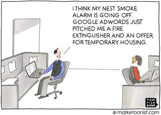 Internet of Things AdWords comic