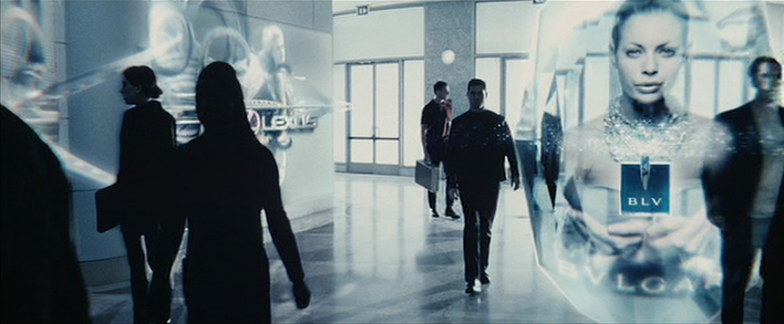 Internet of Things Minority Report ads