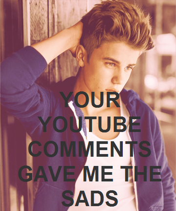 Justin Bieber Doesn't Read Comments