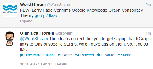 Knowledge Graph increases ad revenue