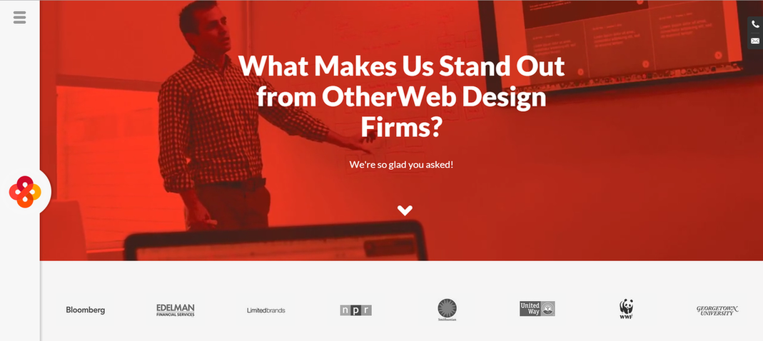 Landing page ideas ask and answer questions