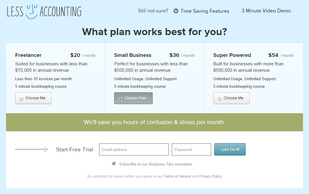Landing page tips and tricks call to action