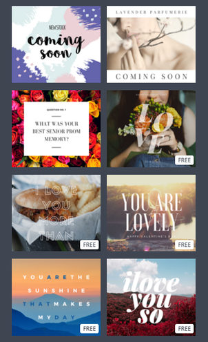 canva layouts