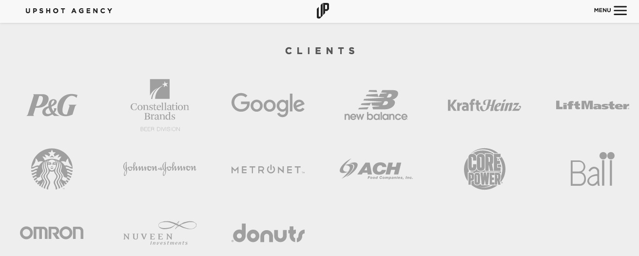 landing page customer logos