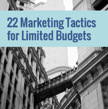 22 low budget marketing ideas for small businesses wordstream
