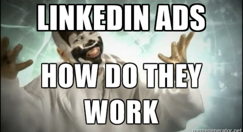 do linkedin ads work