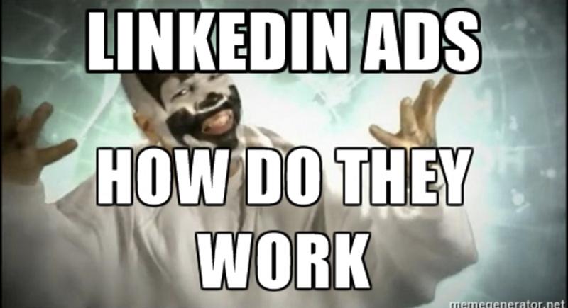 do linkedin ads work